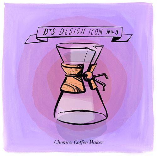 Design Icon: Chemex Coffee Maker (Design*Sponge) Belly button, Coffee maker and Classic