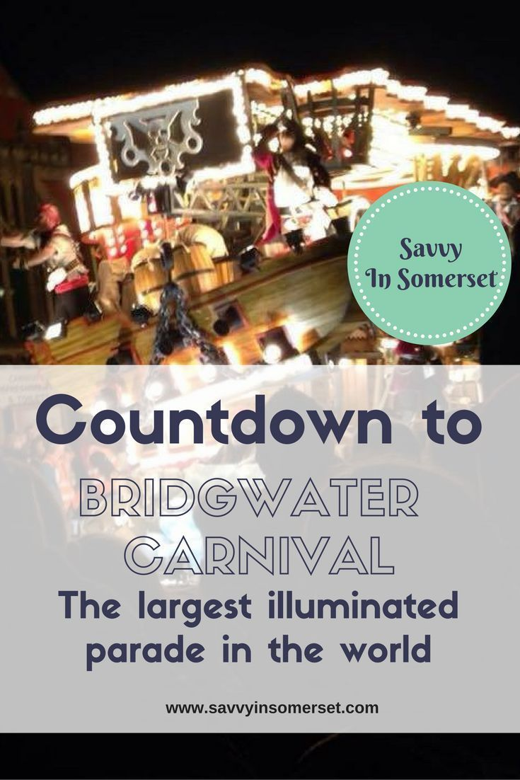 Counting down to the biggest illuminated event of the year  Bridgwater Guy Fawkes Carnival Today begins the one week count down to the biggest night of the year in my hometown  our local Guy Fawkes carnival.