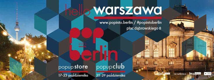 Pop into Berlin w Warszawie