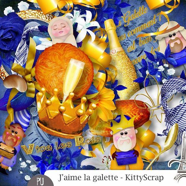 Le Blog de kittyscrap: ESSENTIEL : J'aime la galette