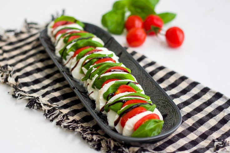 Insalata Caprese- Italiensk sallad