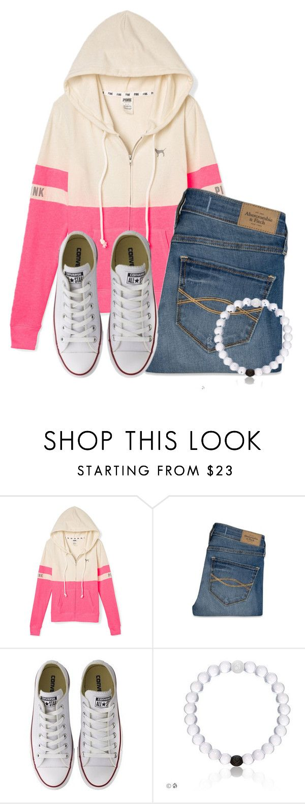 """""""Wednesday"""" by flroasburn ❤ liked on Polyvore featuring Abercrombie & Fitch and Converse"""