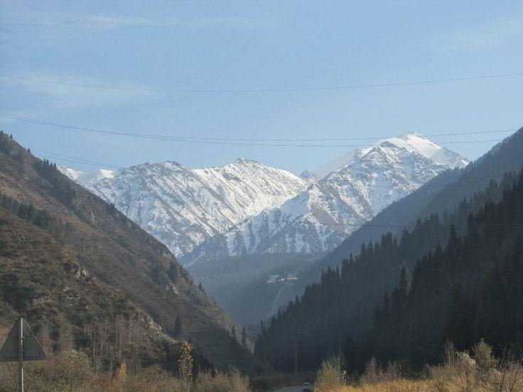 Ile-Alatau Mountains, Kazakhstan