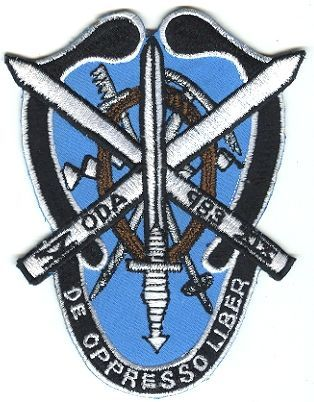 19th Special Forces Group Pocket Patches Operational Detachment A-983 B Company, 5th Battalion
