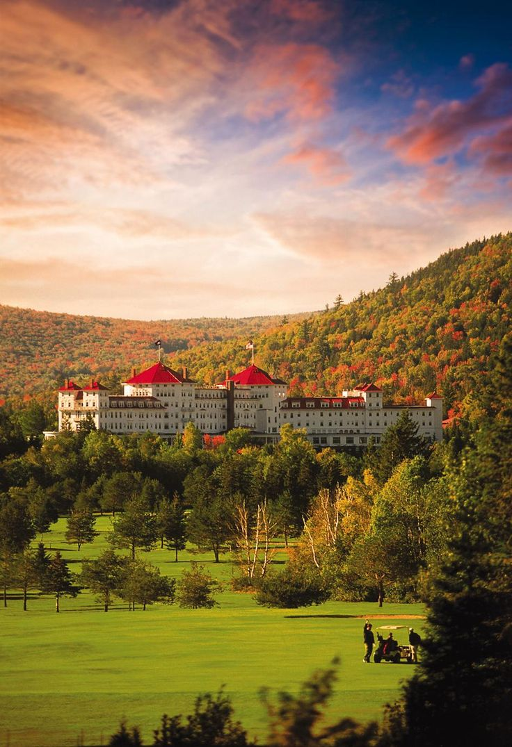 New Hampshire - The Omni Mount Washington Resort..... I am so happy that someone save this grand old lady