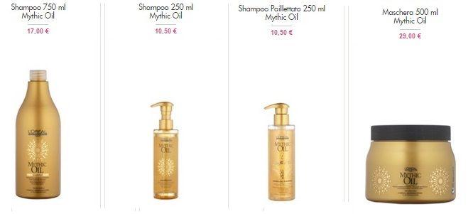 L'Oréal Professionnel #MythicOil su #VentePrivee: ottimi prezzi! Acquista #shampoo #balsamo #maschera in offerta grazie alla #venditaprivata o dai un'occhiata ai prezzi di #Amazon