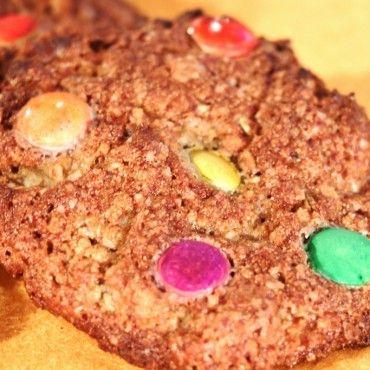 Cookies lentilkové