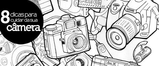 Ilustração: RobJohnson       Cuidar e conservar o equipamento fotográfico é fundamental para a durabilidade e para a permanência da q...