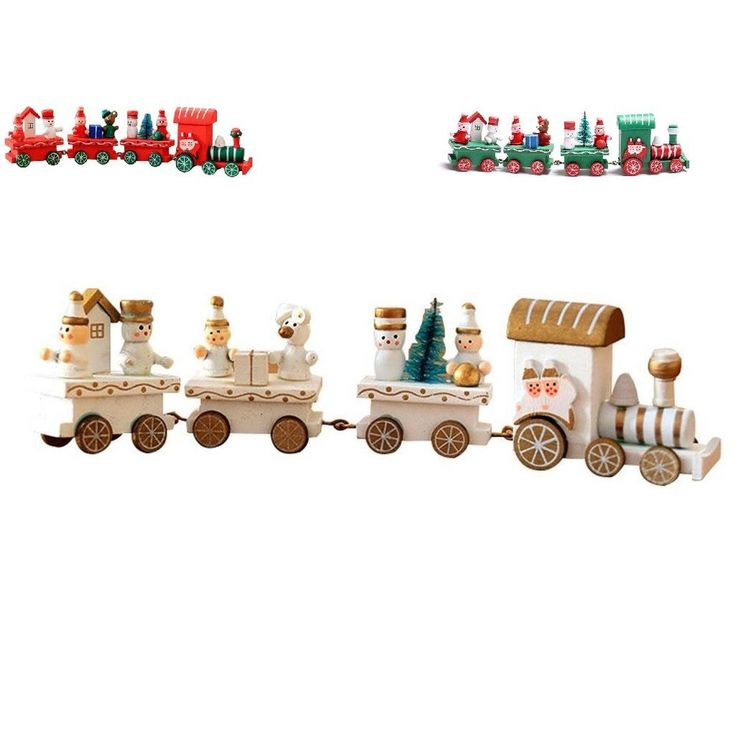 Mini Christmas Train Toy Tree Decor Home Christmas Festival Party For Kids Gift #Unbranded