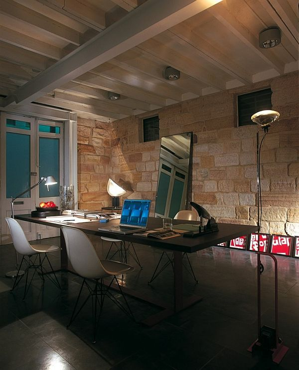 Contemporary office and living space called Smart Design Studio