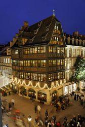 Maison Kammerzell. Place de la Cathedrale. Strasbourg.
