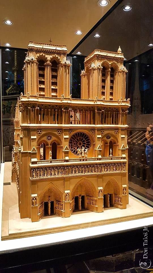 ' Good buildings come from good people '   #Architecture ; #Miniature Notre Dam   www.talosdarius.ro