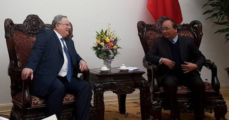 Σε εξαιρετικό κλίμα η συνάντηση του Ν. Κοτζιά με τον Πρωθυπουργό του Βιετνάμ