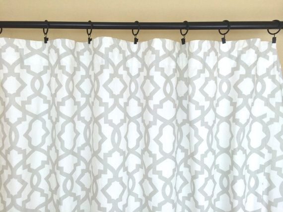 french grey sheffield geometric curtains pair of 2 drapery panels 10 sizes drapery light gray
