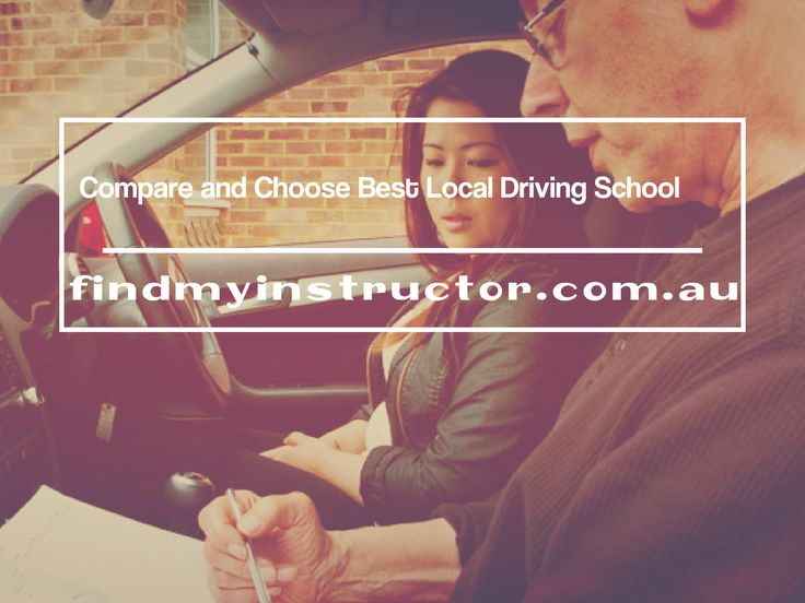 If you want to find out how choose a best driving school, there are many reasons before consider a final decision. Each school offer different facility and cost from one to another, so it is important to make a comparison for choosing perfect local driving school.  http://www.findmyinstructor.com.au/  #LocalDrivingSchools #FindDrivingInstructor #FindMyInstructor #LocalDrivingSchool #CompareDrivingSchools #FindLocalDrivingSchools #RegisteredDrivingSchools #DrivingInstructorsLocal…
