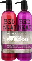 TIGI Bed Head Dumb Blonde Dumb Blonde Tween Set Shampoo and reconstructor twin set designed to get blondes back to their brilliant best! Touch up your hair with a combination of nourishing shampoo and repairing reconstructor. Treatments work in uni http://www.comparestoreprices.co.uk/january-2017-8/tigi-bed-head-dumb-blonde-dumb-blonde-tween-set.asp
