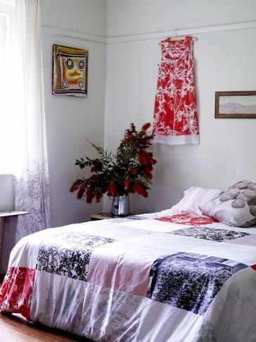Our escape to the country is available for rent through stayz.com.au Beautiful patchwork bedding patchwork from www.spacecraftaustralia.com
