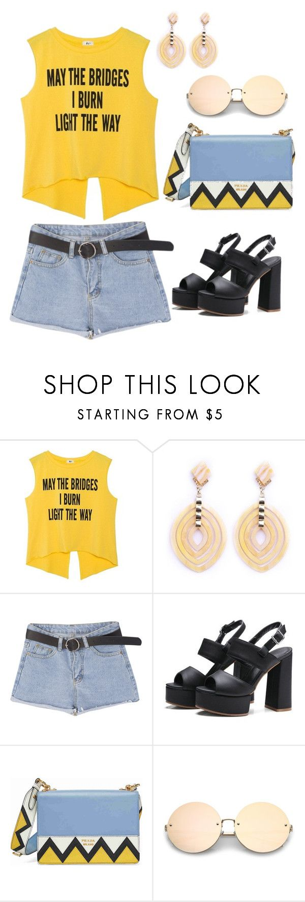 Outfit #2 by impavidgirl on Polyvore featuring Prada