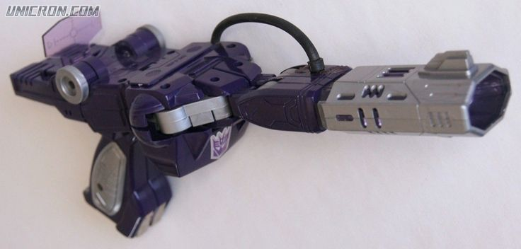 Transformers Generation 1 Shockwave toy