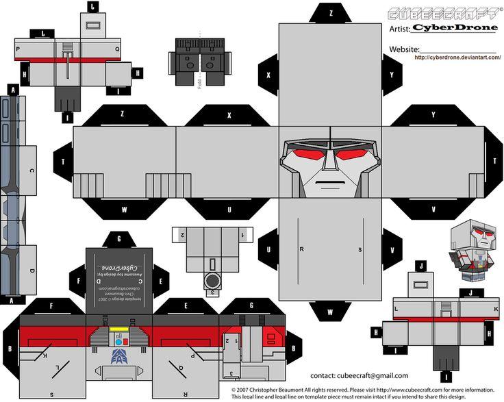 Cubee - Megatron 'G1' by CyberDrone.deviantart.com on @deviantART