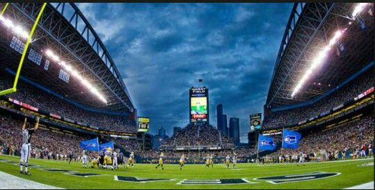 Quest Field. Home of the Seattle Seahawks.