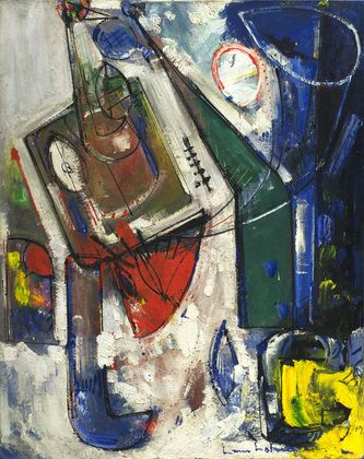 Hans Hofmann- Delight, 1947. gesso and oil on canvas