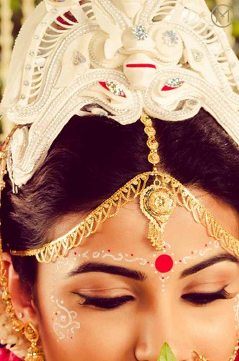 So Pretty - A Bengali Bride #India