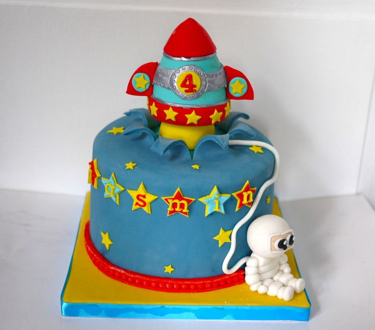 Rocket Cake - AppleMark
