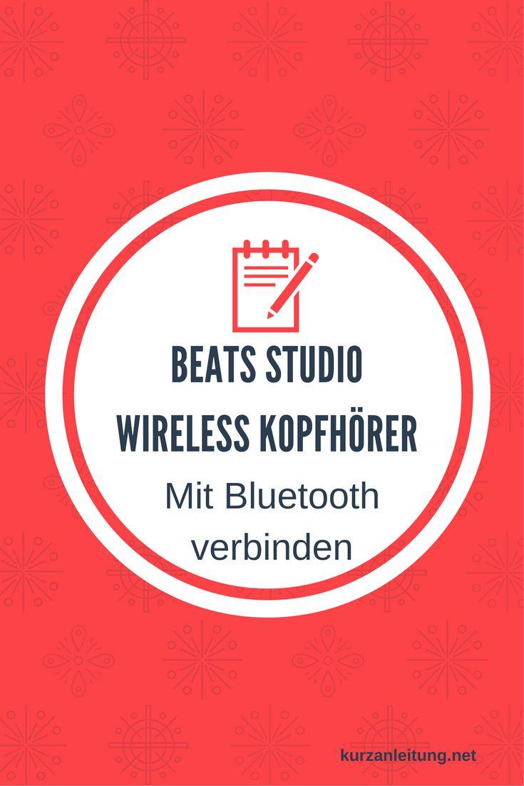 Wie wird eine Bluetooth Verbindung zwischen dem Beats by Dr. Dre Studio Kopfhörer und einem Android / iPhone Endgerät hergestellt? Wie kann ein Reset durchgeführt werden?  Marke: Beats by Dr. Modell: Studio Wireless, MP1F2ZM/A, Bluetooth Stereo Kopfhörer  #Beats #Bluetooth #Kopfhörer #Pairing