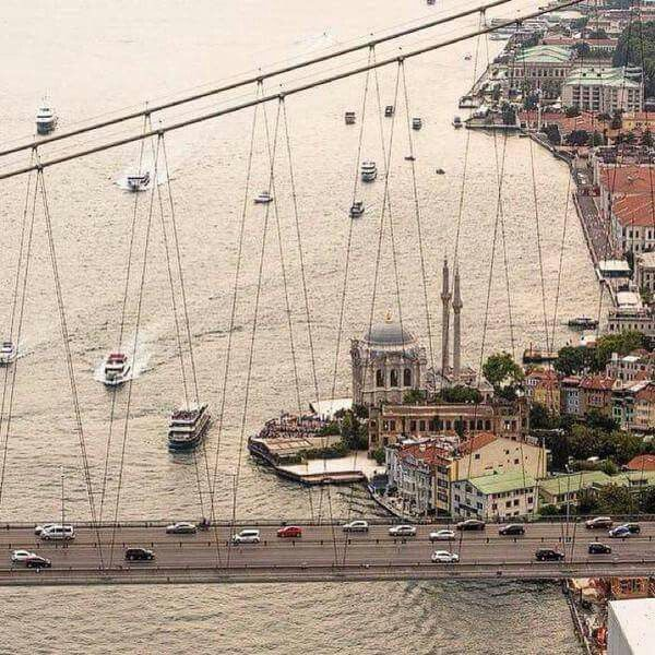 Ortakoy cami .Istanbul.Turkiye.