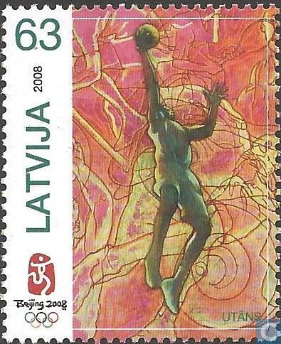 Postage Stamps - Latvia - Olympic Games