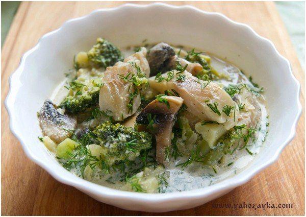 Рыбно-овощной союз – это полезный и правильный завтрак, или же вкусный и при этом питательный пазл в обеденном меню, а еще легкий и полноценный ужин.