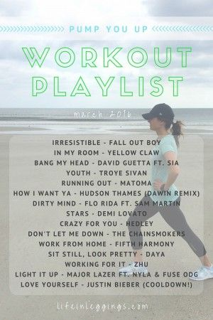 Pump You Up Workout Playlist