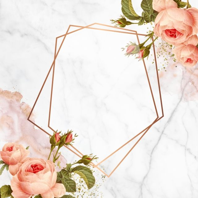 Floral Geometric Design Floral Rose Blooming Png Transparent Clipart Image And Psd File For Free Download Flower Frame Frames Design Graphic Floral