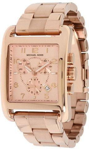 37a0cab27e72 Michael Kors Womens Rose Gold Tone Chronograph Watch Mk5488 – Designer  Watch Discounts