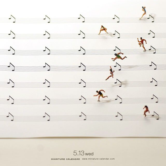 """. 5.13 wed """"Pace"""" . 音楽もスポーツもペースの乱れがミスに繋がります。 ."""
