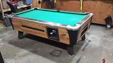 DYNAMO COMMERCIAL COIN OPERATED 6 1/2 FOOT POOL TABLE #2