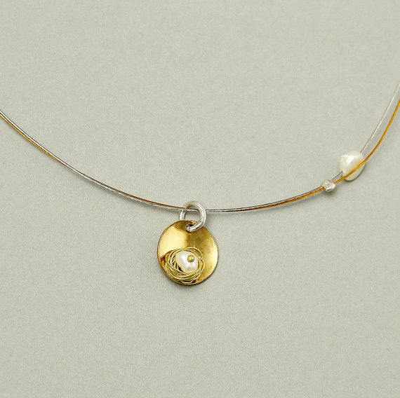 Small pendant necklace geometric pendant by ColorLatinoJewelry