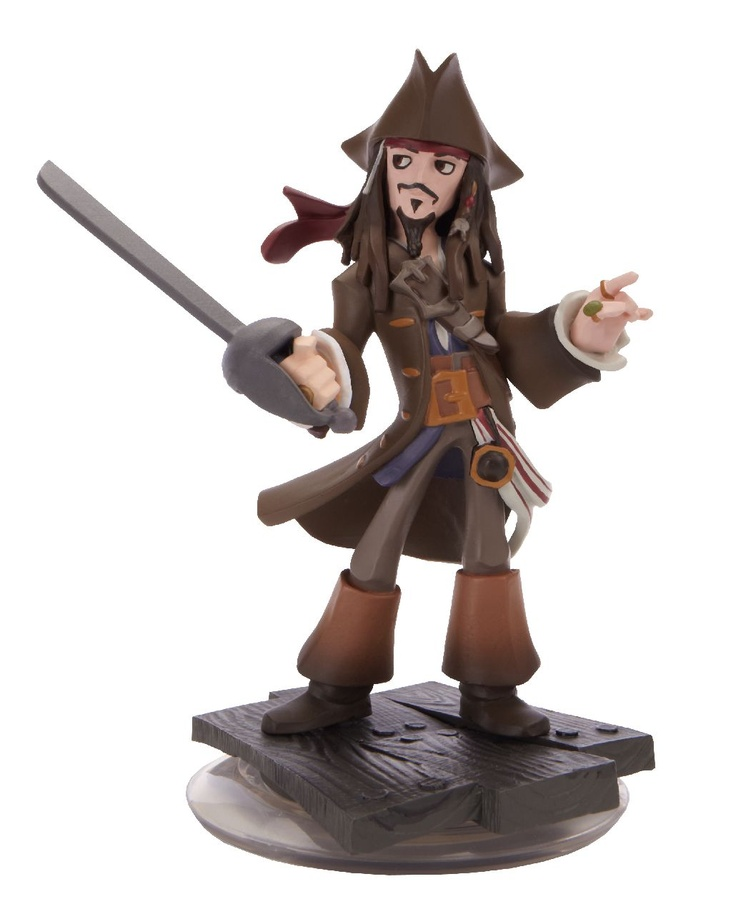 Disney Infinity Figure: Jack Sparrow (Wave 1, Pirates of the Caribbean Play Set, Included in Starter Pack)