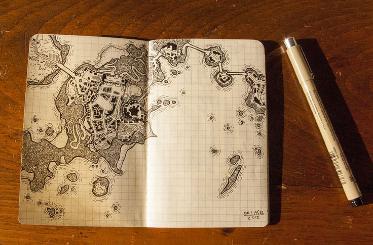 My little book of dungeon maps - Heather Souliere