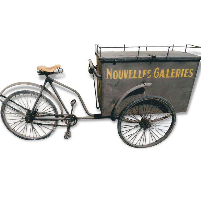 Les 65 meilleures images propos de triporteur sur pinterest chariots de caf tals de - Deco jardin velo paris ...