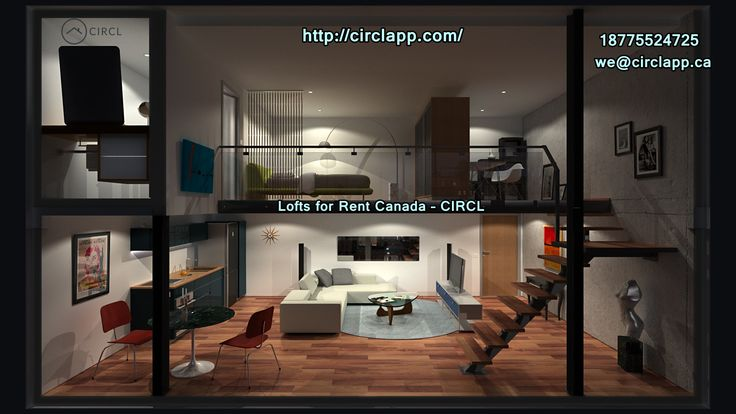 Are You Looking #Lofts for #Rent in #Canada! At #CIRCL we have selected different types of modernizing lofts for rent. We provide best #rental #services in all over the Canada. http://circlapp.com/