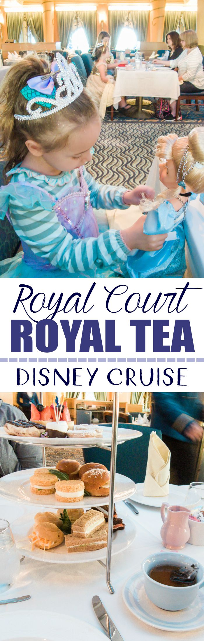 Make Your Disney Cruise Extra Special with Royal Court Royal Tea Party #disneysmmc