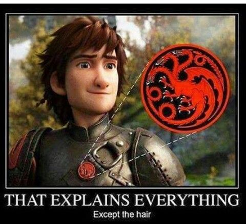 How to train your Dragon #GoT #Targaryen | things from Tv ...