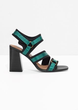 & Other Stories | Square Toe Sandalettes