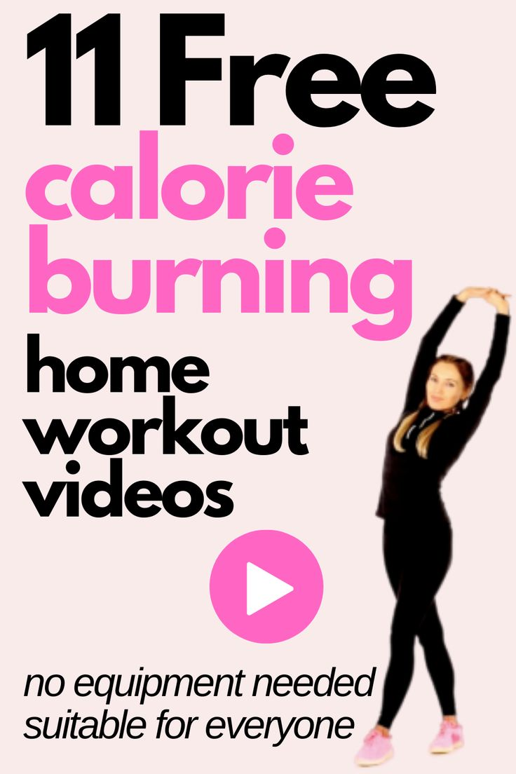 Calorie Burning Workouts you can do at home. Easily burn ...
