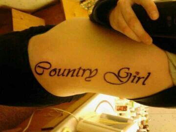Country Girl Tattoo