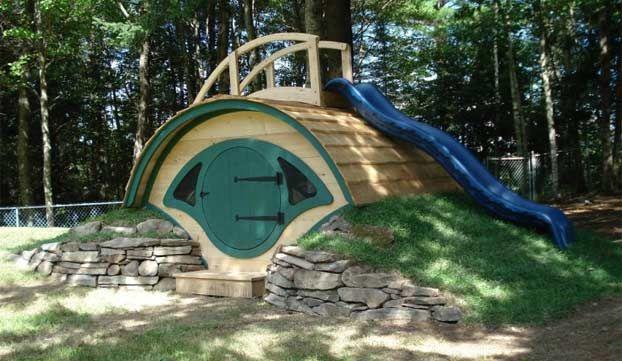 Hobbit, le Casette di legno per giardino con prezzi