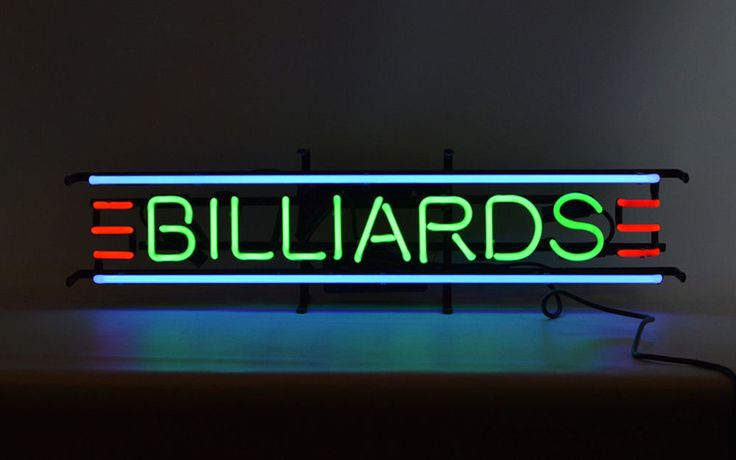 "Billiards Game Room Neon Light Sign Bar Pub Club Store Pool Table Light 30""x10"""