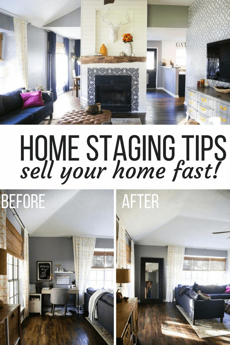 Ideas For How To Stage Your Home To Sell Quickly Free Home Staging Tips On A Budget And Before And After Photos Home Staging Home Staging Tips Home Decor Tips #small #living #room #staging